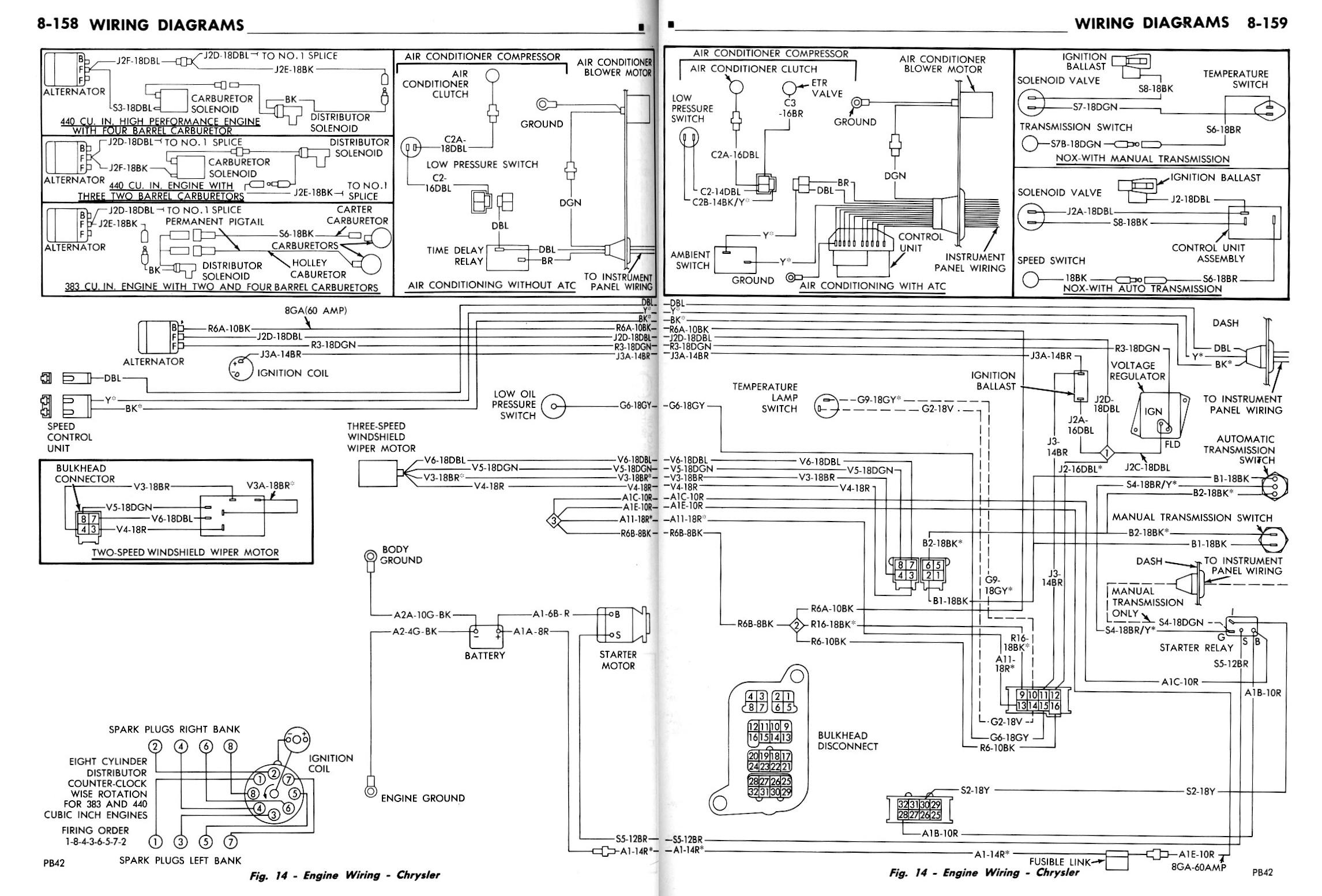 Chrysler Voltage Regulator Wiring Diagram : Internal wiring diagram of chrysler external voltage