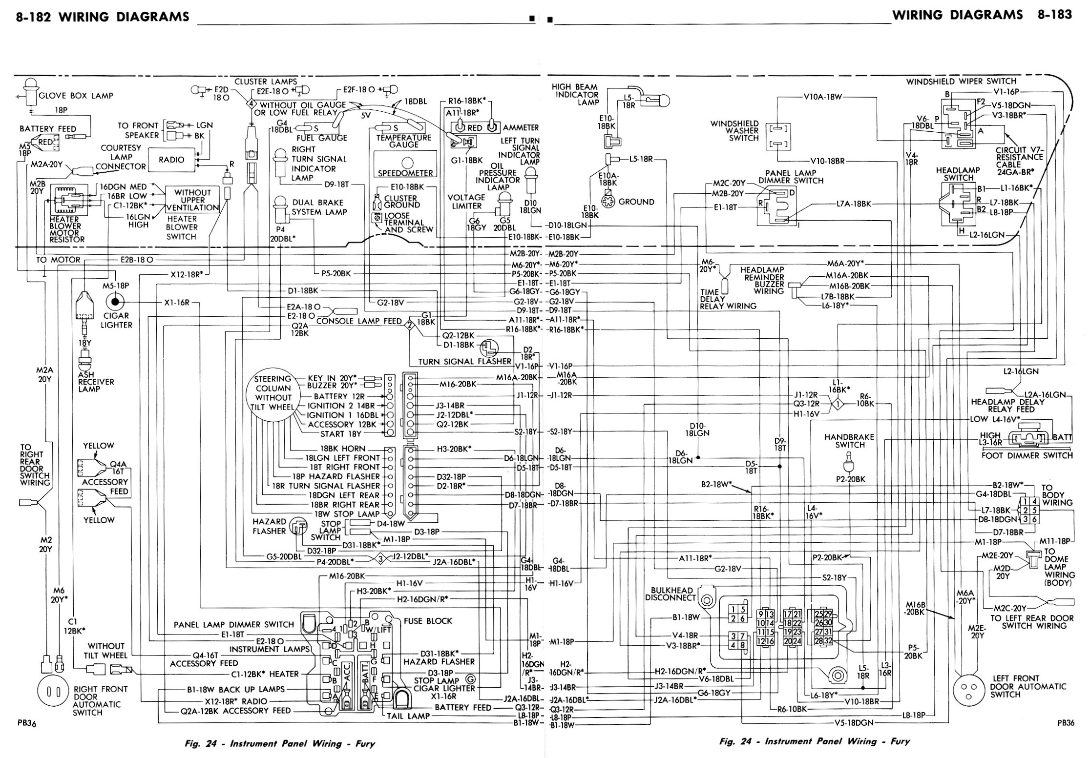 1970 plymouth barracuda ignition wiring diagram plymouth